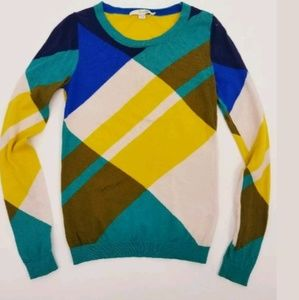 Boden Sweaters - Boden 2 Intarsia Plaid Jumper Sweater